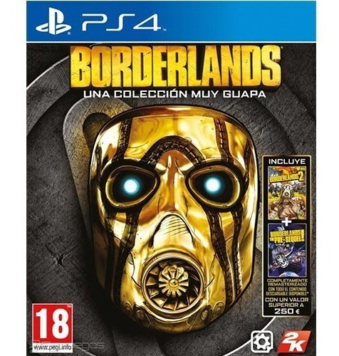 borderlands: the handsome collection ps4 - prophone