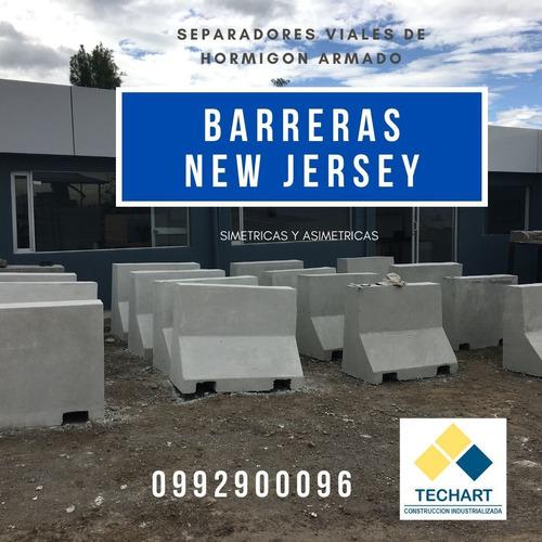 bordillos, cajas, tubos prefabricados, barreras new jersey