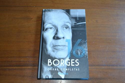 borges obras completas tomo 16. editorial sudamericana