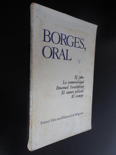 borges oral el libro swedenborg la inmortalidad el tiempo