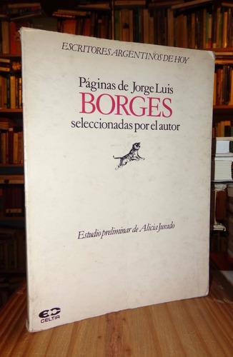 borges: páginas seleccionadas por el autor.