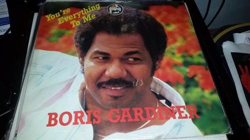 boris gardner you're everything to me vinilo usa caño