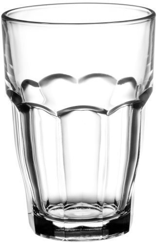 bormioli rocco 12-1/2-ounce rock bar beverage apilable / en