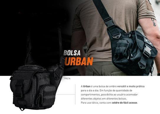 b960cf6bd Bornal Urban Invictus - Frete Grátis - Multicam - R$ 185,00 em ...