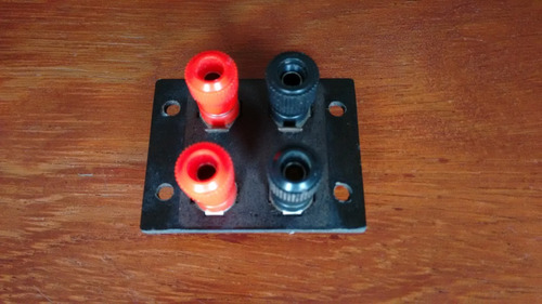 bornes gradiente amplificador model 80 lab 75 saida caixas