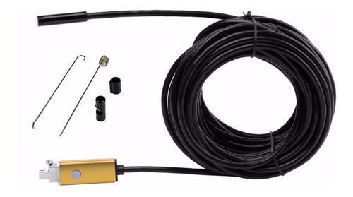 boroscopio - endoscopio portable - 10m - ip67 - android