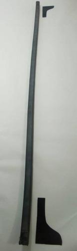 borracha barra inferior vidro traseiro troller