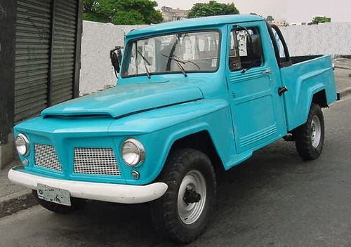borracha bocal tanque rural /  jeep  /  pick-up f75