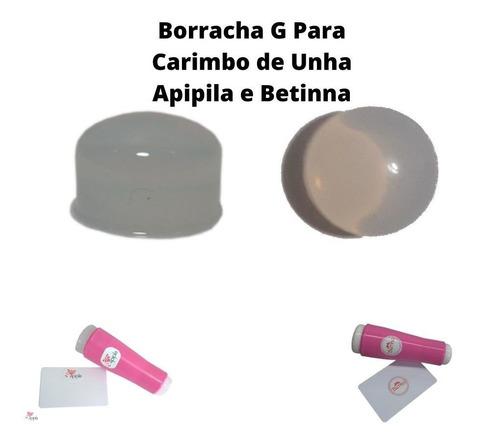 borracha g carimbo duplo apipila