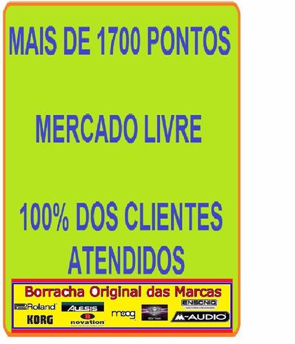borracha nova 12contact teclado ensoniq promoção frete r$10