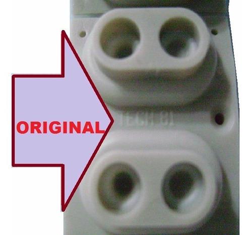 borracha p/ teclado korg oasys 88  kit novo original 8 peças