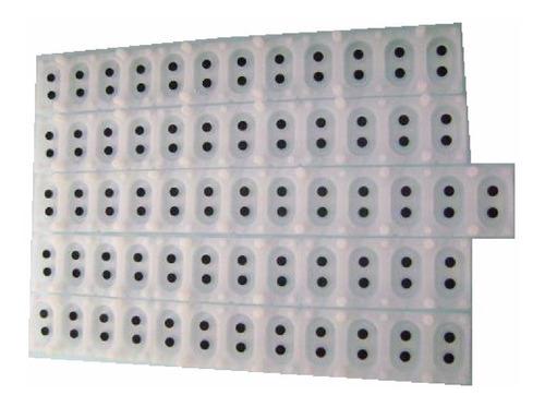 borracha para teclado roland e480b e500 e600 kit completo