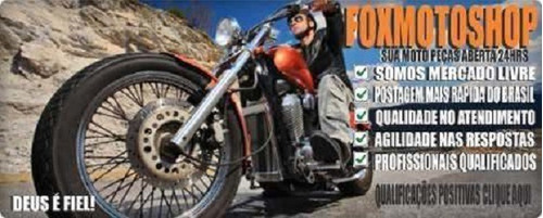 borracha pedaleira honda nxr bros 125 150 - par