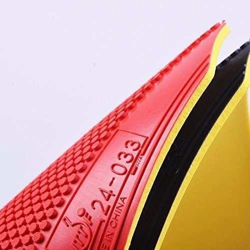 borracha pino curto tênis de mesa marca dhs modelo dragonow