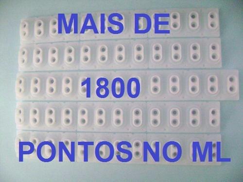 borracha teclado roland e *  kit 5 peças completo  promoção