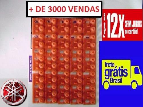 borracha teclado yamaha psr520  kit 5 peças c/ frete gratis