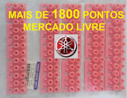 borracha teclado yamaha psr520 kit5 borrachas novas c/brinde