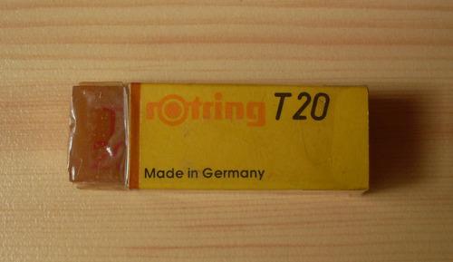 borrador rotring t20 alemania vintage