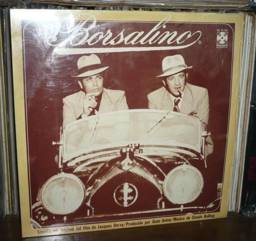 borsalino lp soundtrack claude bolling