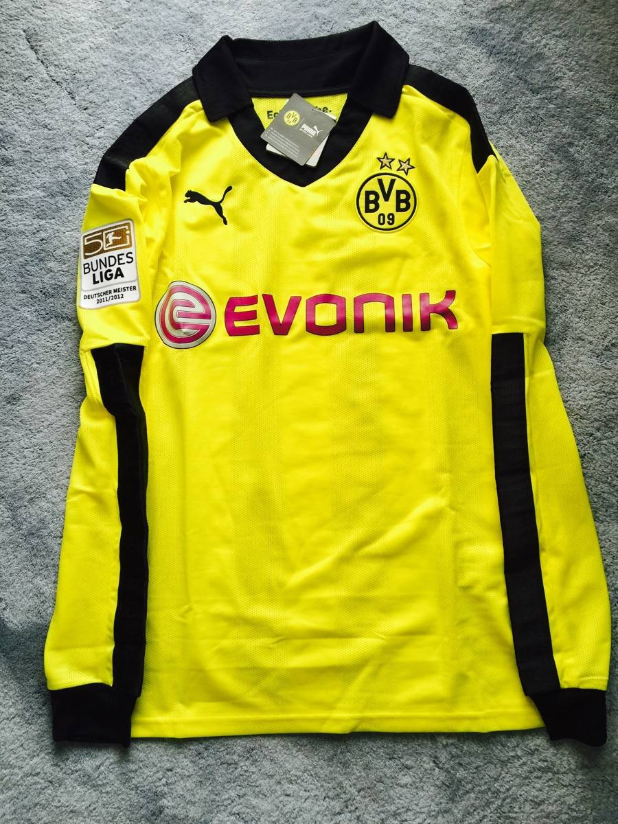 huge discount 773a4 6cb36 Borussia Dortmund 12-13 Winter Edition Oficial Lewandowski