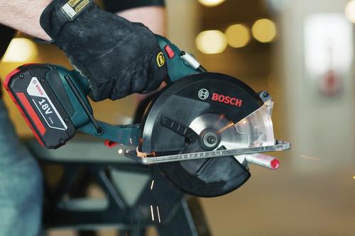 bosch csm180b bare tool sierra de corte de metal de iones de