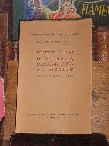 bosch garcía material para la historia diplomática de méxico