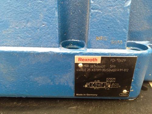bosch rexroth válvula hidráulica direccional servo