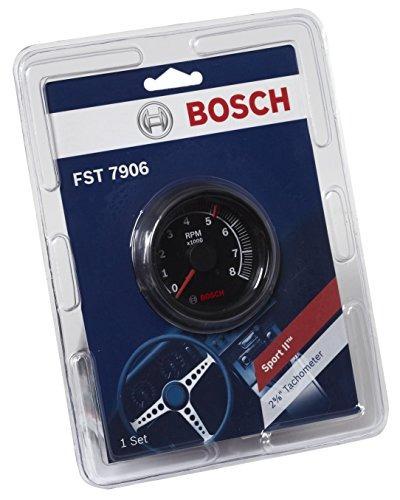 bosch sp0f000025 sport ii 258 tacometro esfera negra bisel n
