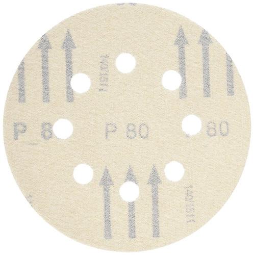 bosch sr5r080 5 piezas 80 grit 5 in. discos de lijado con ga