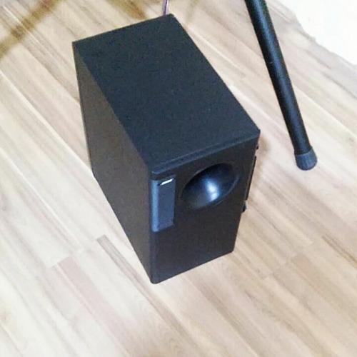 bose 2.1 acoustimass cx.de som(passivo)c/ suporte de parede