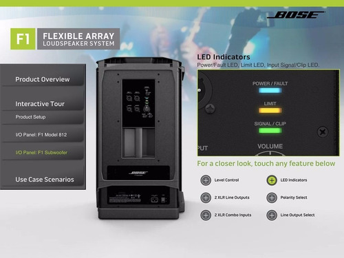 bose f1 812 flexible array loudspeaker system wifi