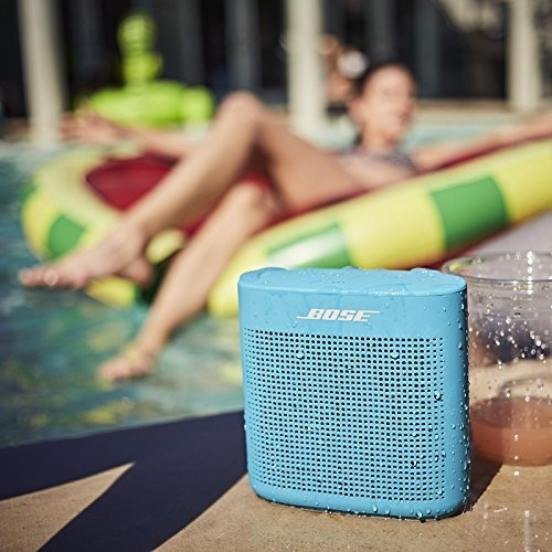 bose soundlink color bluetooth altavoz ii - azul acuatico