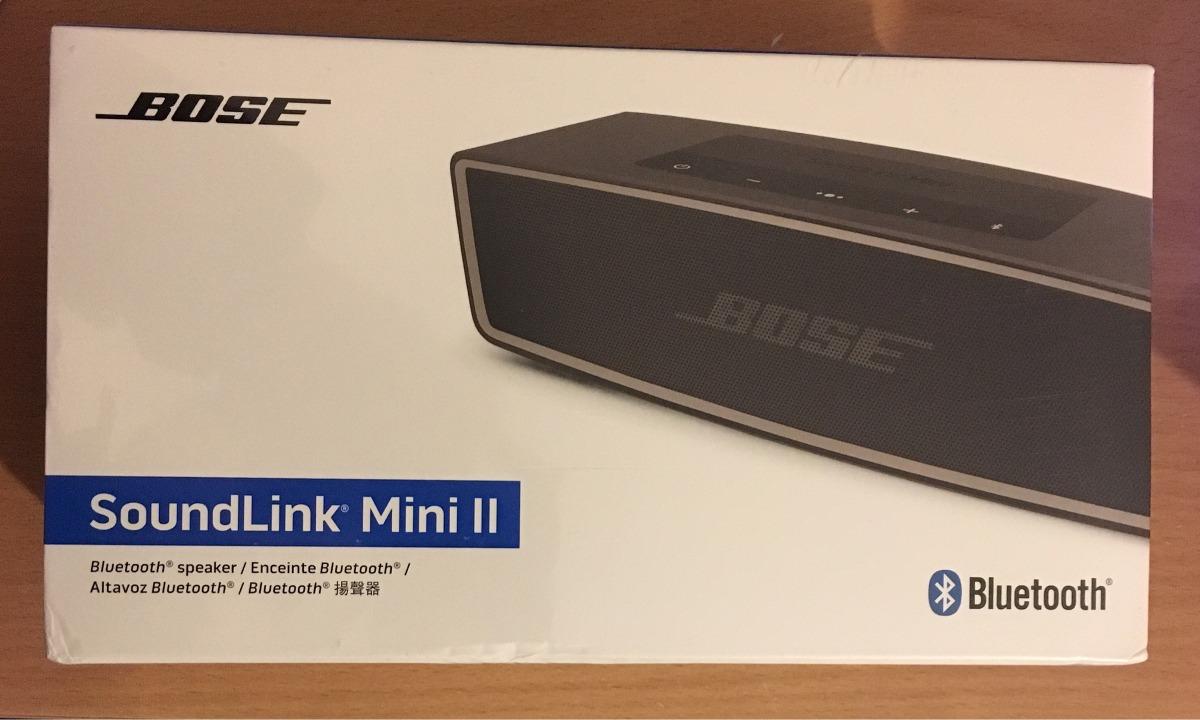 Bose Soundlink Mini Bluetooth Speaker Ii Carbon 169990 En Cargando Zoom
