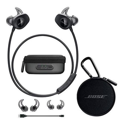 bose soundsport in-ear auriculares inalámbricos - negro y fu