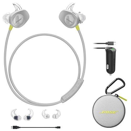 bose soundsport inalámbricos auriculares de botón - citron