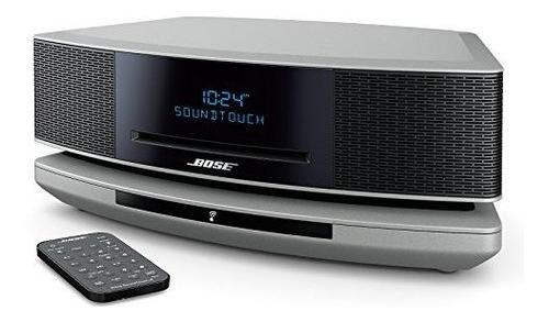 bose wave soundtouch music system iv,  alexa, platino plata