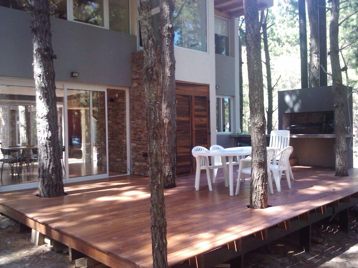 bosque de mar azul - hermosa casa de diseño disp todo él año