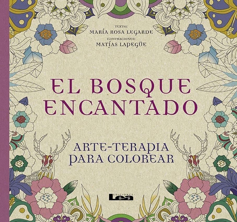 Bosque Encantado, El: Arte-terapia Para Colorear - $ 180,00 en ...