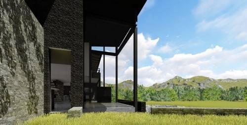 bosque real, precioso condominio de lujo, solo 4 casas