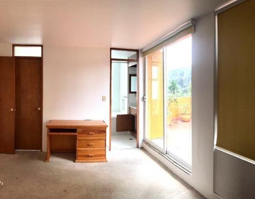 bosques de las lomas, ph 2 niveles con terraza y suite, en p