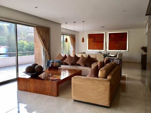 bosques de las lomas,preciosa e impecable casa en condominio