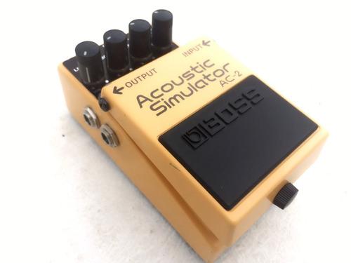 boss ac2 simulador guitarra acustica electrica ac-2 ac3