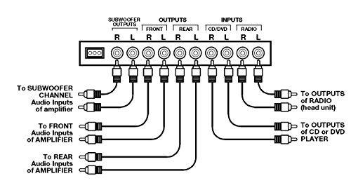 boss audio eq1208 banda 4 preamplificador ecualizador con