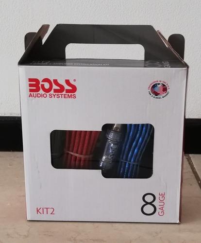 boss audio kit 2 - calibre 8