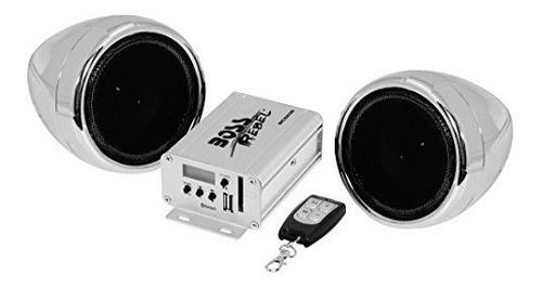 boss audio mc520b bluetooth altavoz resistente a la intemper