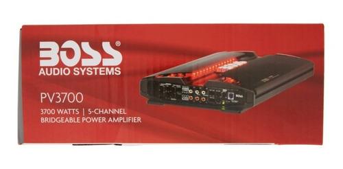 boss audio pv3700 - phantom 3700 vatios de 5 canales de ran