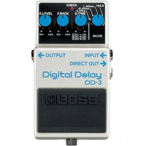 boss dd3 pedal de efecto digital delay house music