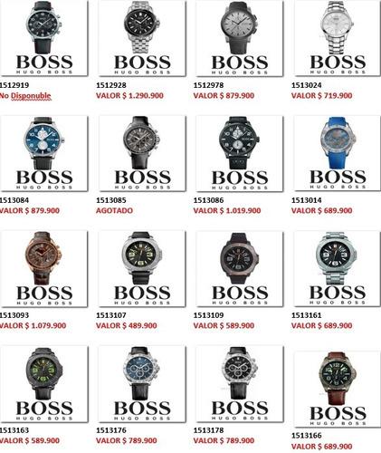 boss deportivo reloj hugo
