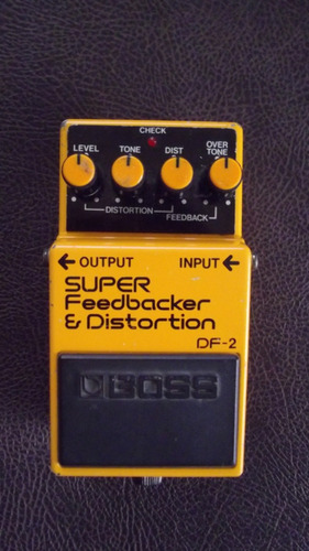 boss df-2 super feedbacker & distortion!