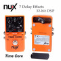 Pedal Guitarra Nux Time Core Delay Y Looper + Regalo